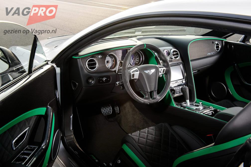 Bentley Continental GTR-3 interieur
