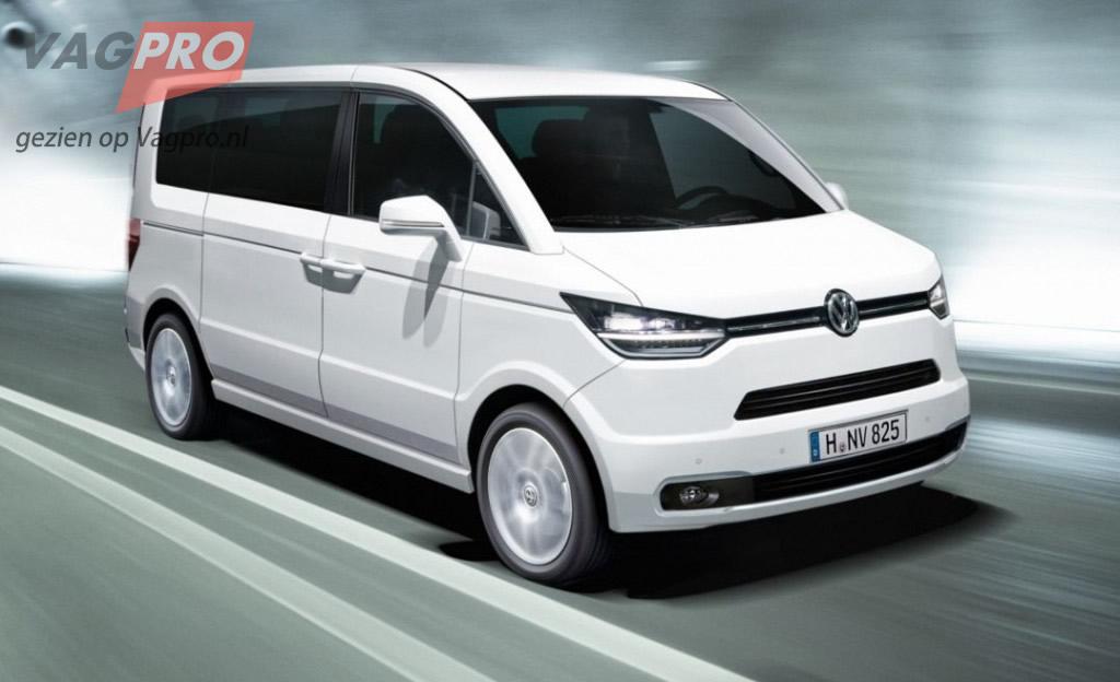 Volkswagen Transporter T6 - Nieuwe Volkswagen T6 bus
