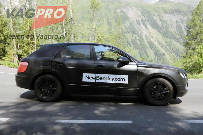 nieuwe bentley SUV
