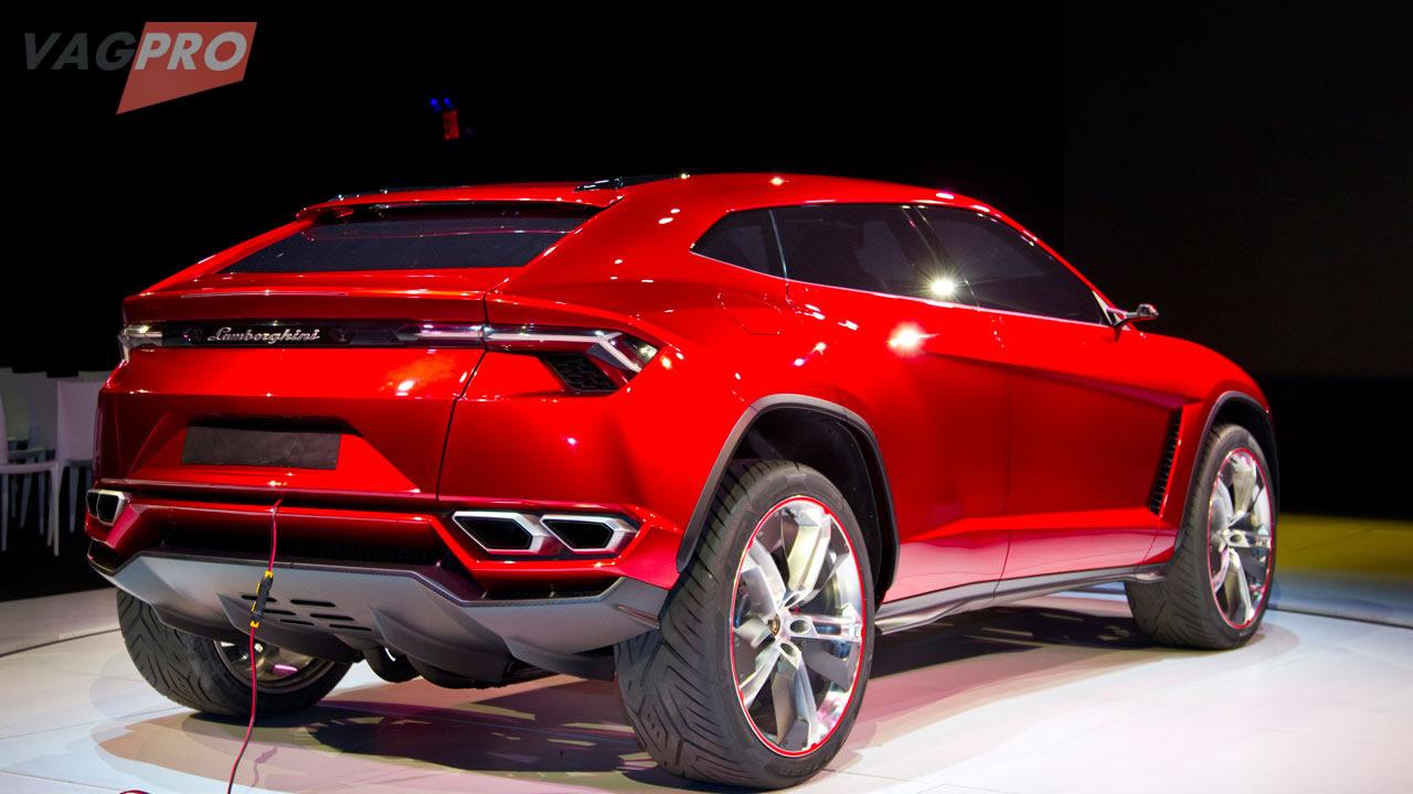 Lamborghini Usus Achterkant