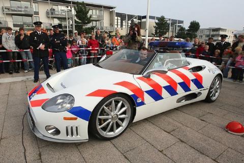 Politie Spyker!