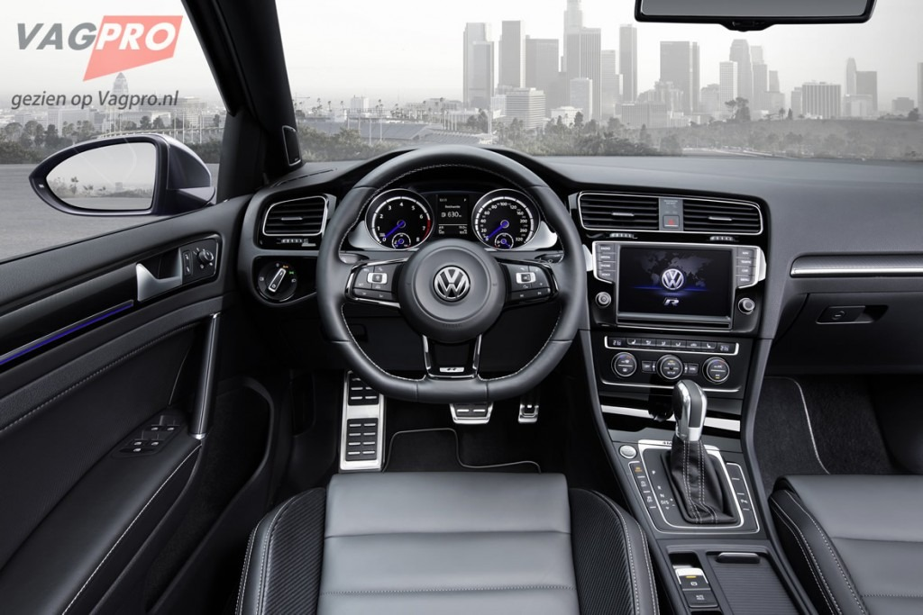 Golf 7 Variant interieur