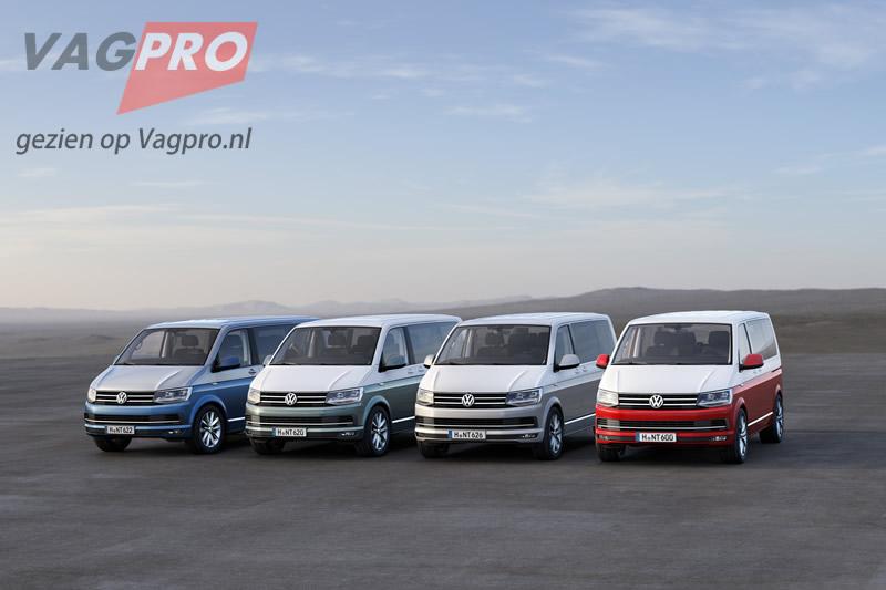 Transporter reeks VW