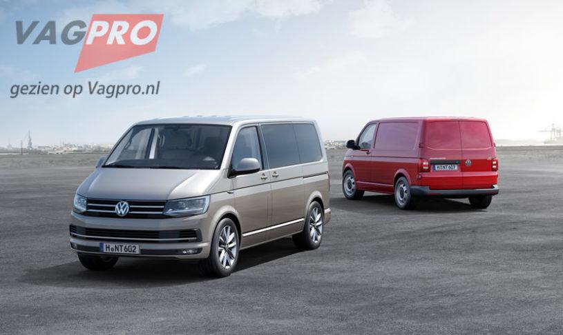De nieuwe Volkswagen Transporter T6