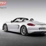 Porsche Boxster Spyder achterzijde