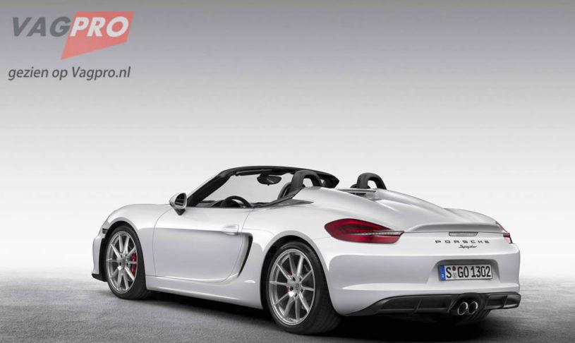 Porsche Boxster Spyder: Het dak eraf!