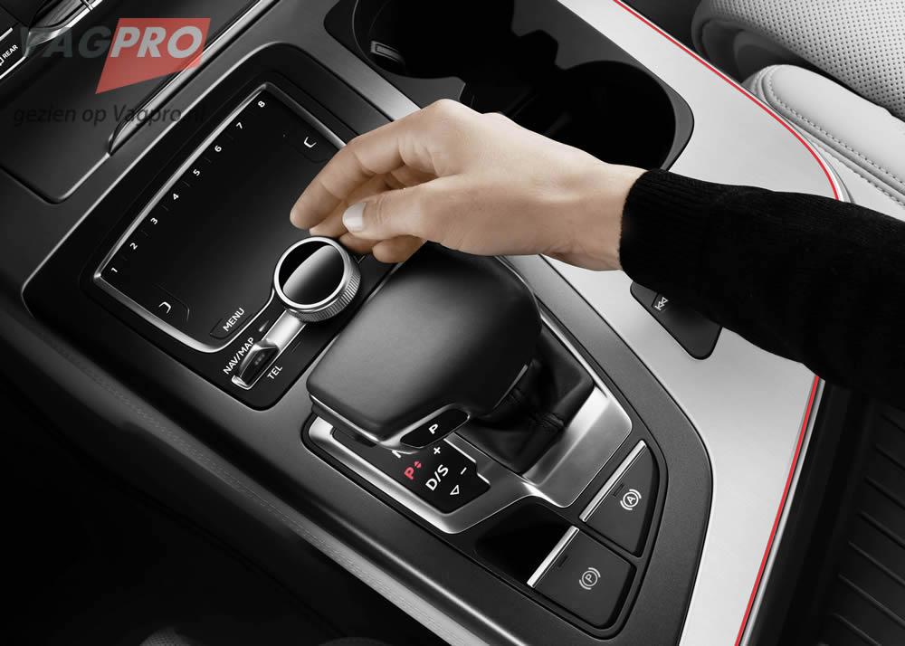 Audi Q7 MMI console