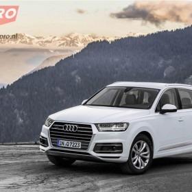 Audi Q7 voorzijde wit