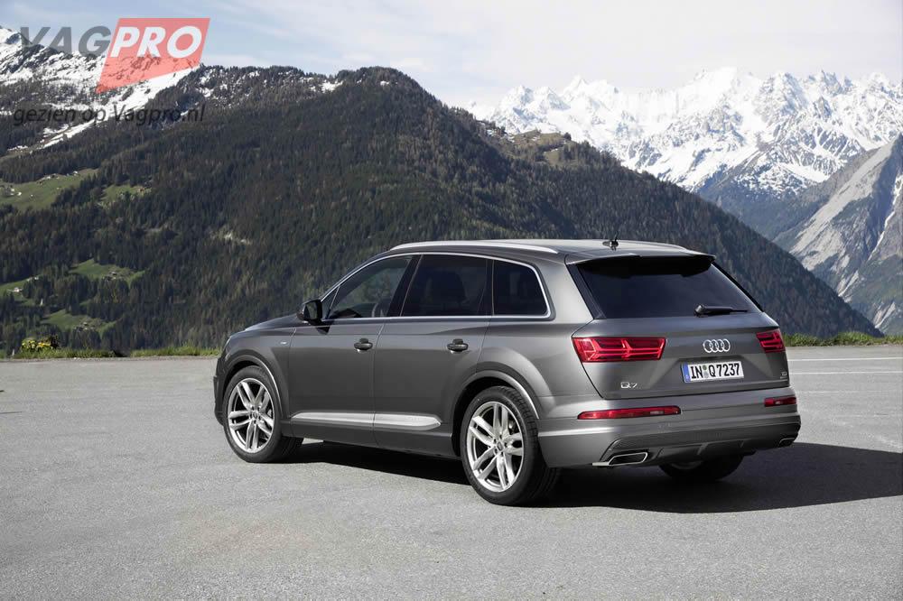 Q7 Audi achterzijde