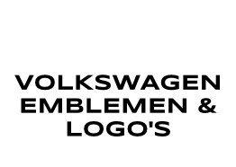 Volkswagen Emblemen en Logo's